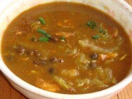 ムカゴカレースープ